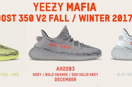 Release Updates On All Upcoming adidas Yeezy Boost 350 V2