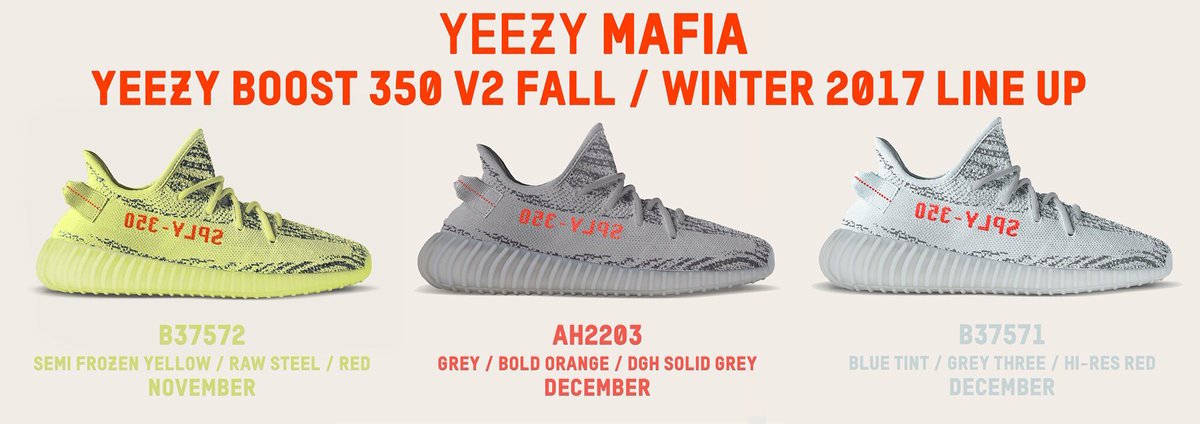 hot sale online 61d88 4ec7c Release Updates On All Upcoming adidas Yeezy Boost 350 V2 ...