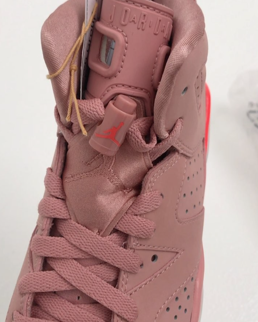 best website f4ce8 49da5 Aleali May x Air Jordan 6 Millennial Pink • KicksOnFire.com