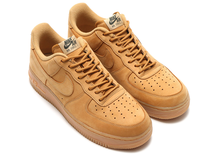 Nike Air Force 1 High 'Wheat' FlaxFlax Outdoor Green Best