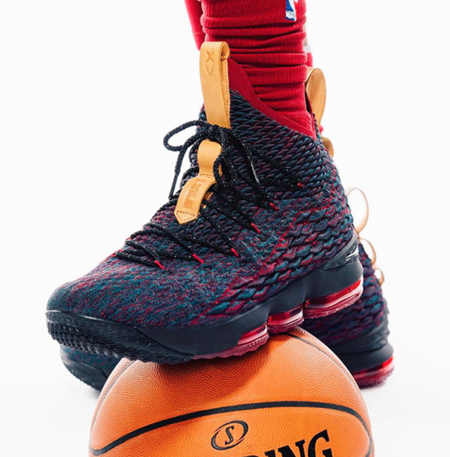 low cost dd3a4 b6a16 This Is The Nike LeBron 15 Colorway LeBron James Wore For ...