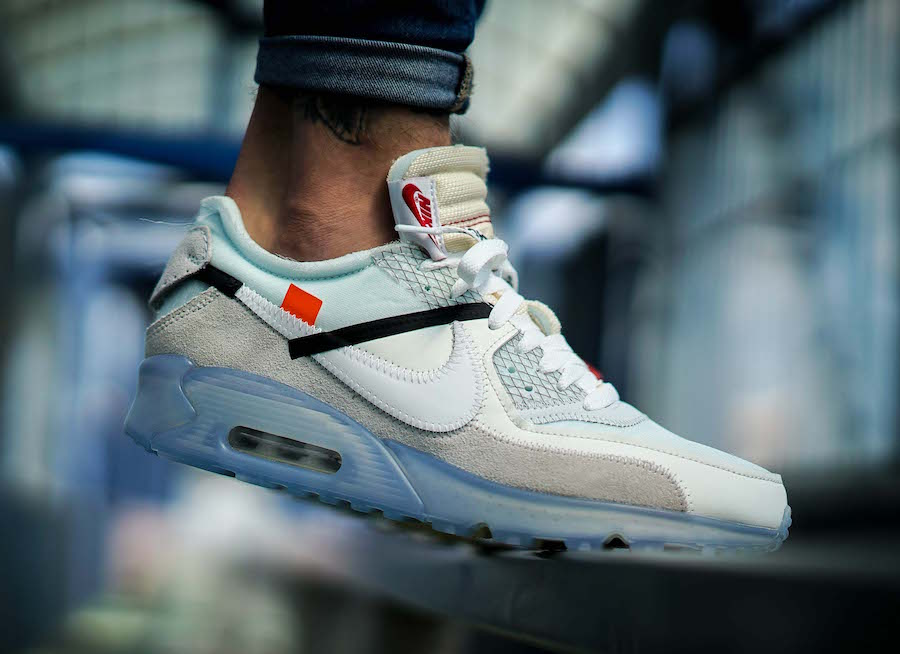 Is The OFF WHITE x Nike Air Max 90 ICE On Your Must Cop List