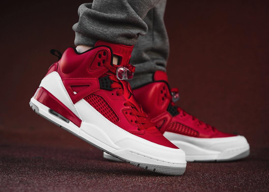 Look Out For The Jordan Spizike Gym Red