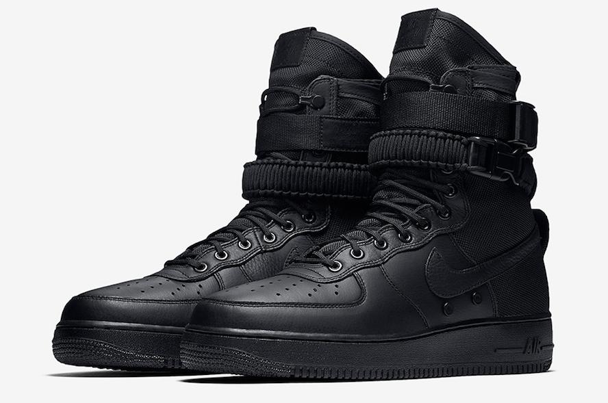 Release Date: Nike SF-AF1 High Triple