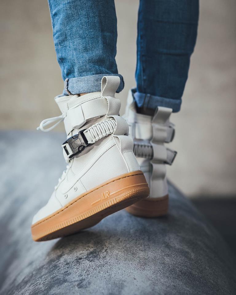 separation shoes 9fb5b 24bdb Now Available: Nike SF-AF1 High Light Bone • KicksOnFire.com