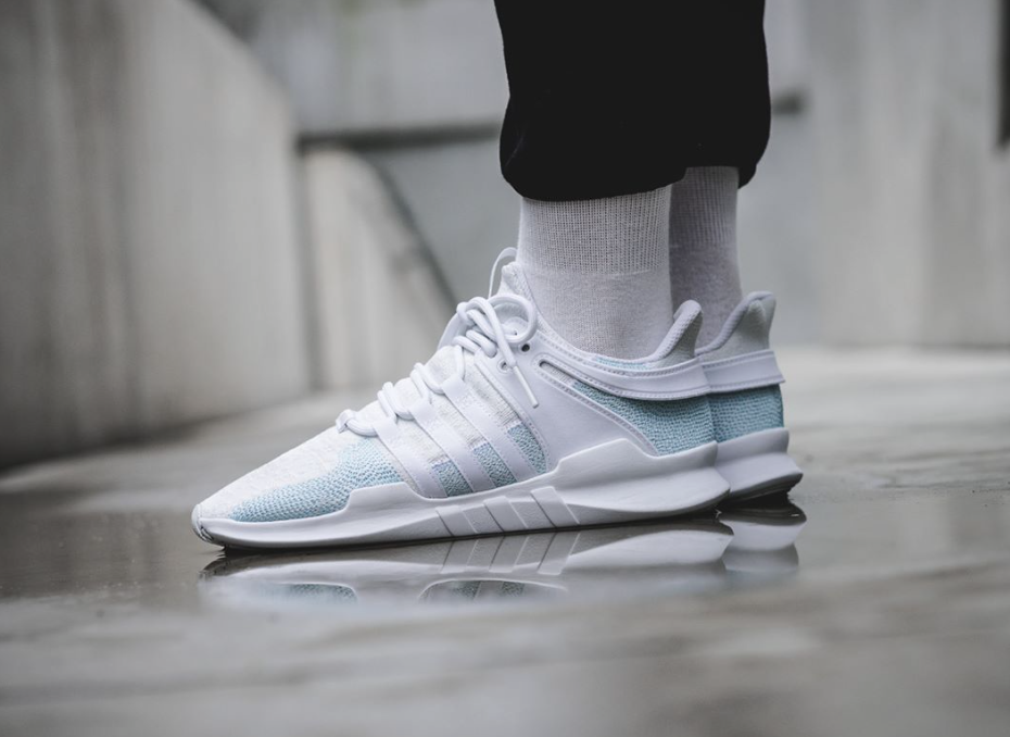 buy popular 44825 3ff82 Parley x adidas EQT Support ADV Running White Releasing This ...