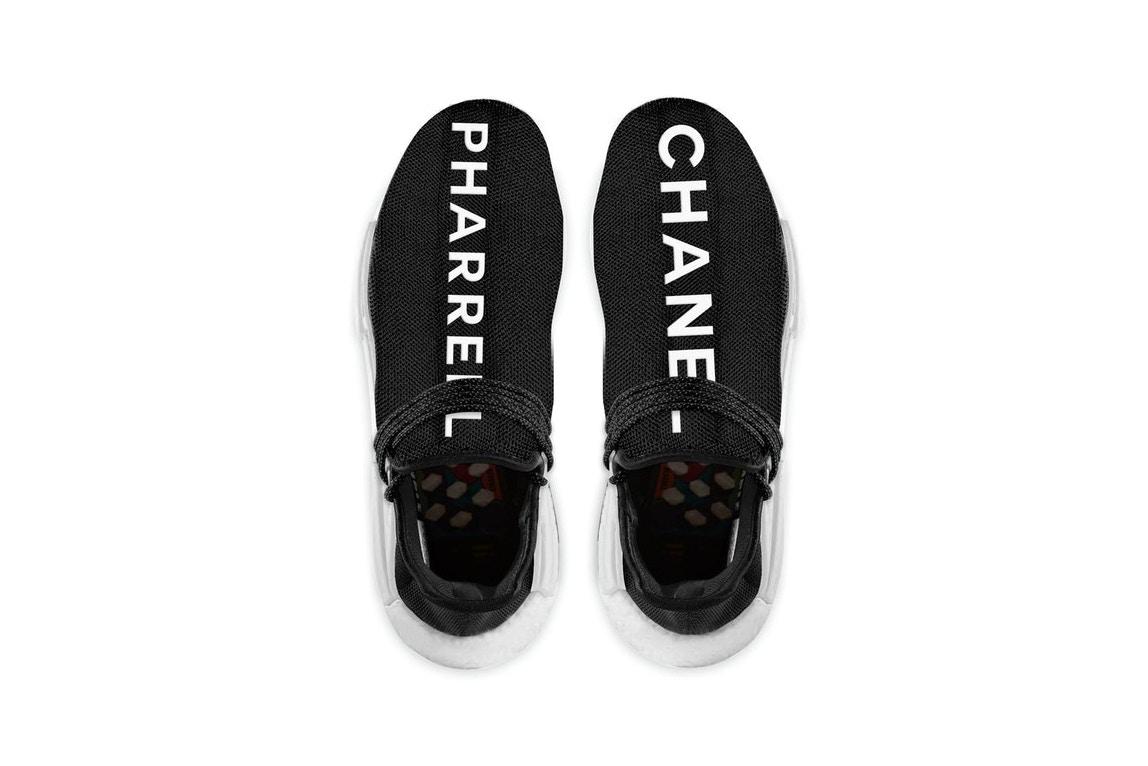 free shipping b470f 75152 Pharrell x Chanel x adidas NMD Human Race Releasing Next ...