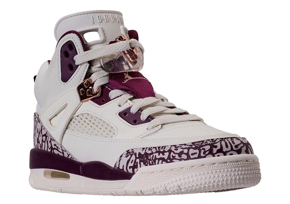 The Jordan Spizike GS GG Bordeaux Is On