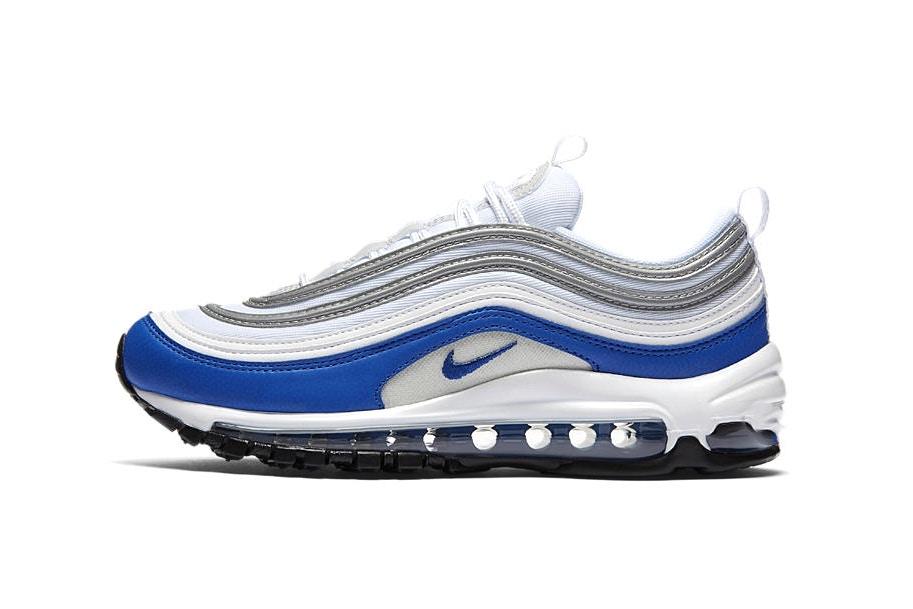 air max 97 bleu blanc noir