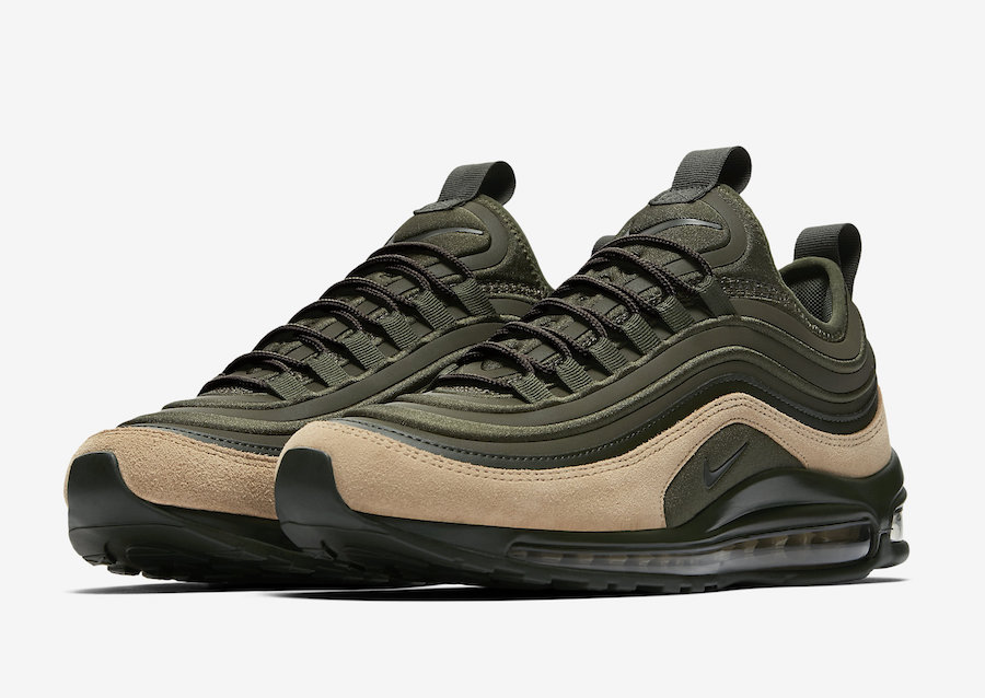 Official Images Of The Nike Air Max 97 Ultra 17 Cargo Khaki ...