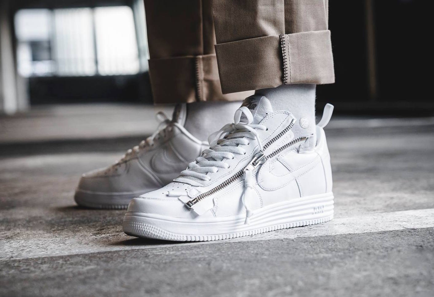 Are You Looking Forward To The Acronym x Nike Lunar Force 1 ...
