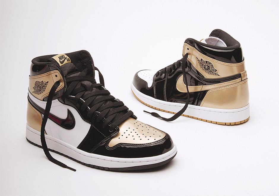 sports shoes 36196 621dc Air Jordan 1 Retro High OG Gold Top 3 • KicksOnFire.com