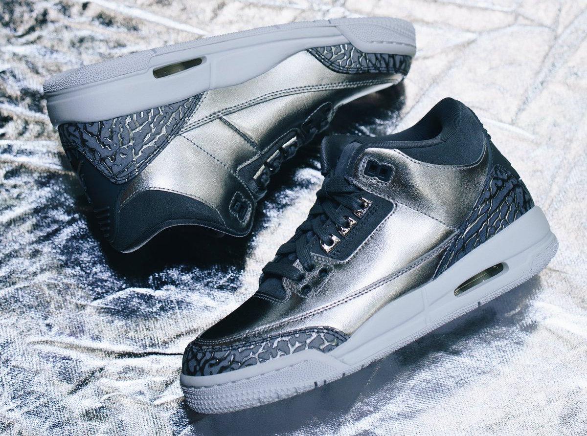 online store a9f04 918c0 Air Jordan 3 GS Chrome • KicksOnFire.com