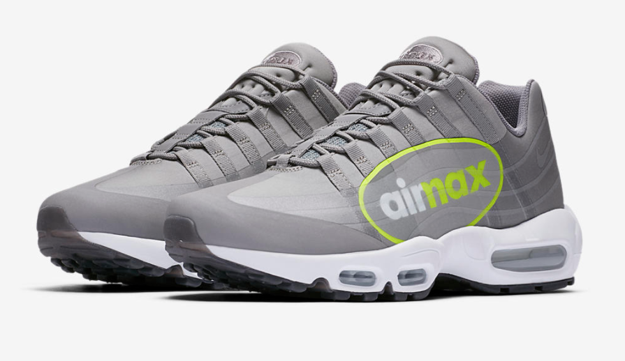 Release Date Official Images: Nike Air Max 95 Big Logo Dust Volt ...