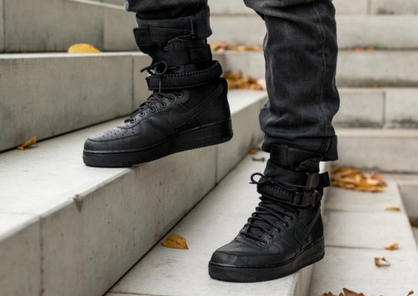 Get The Nike SF-AF1 High Triple Black On Black Friday ...