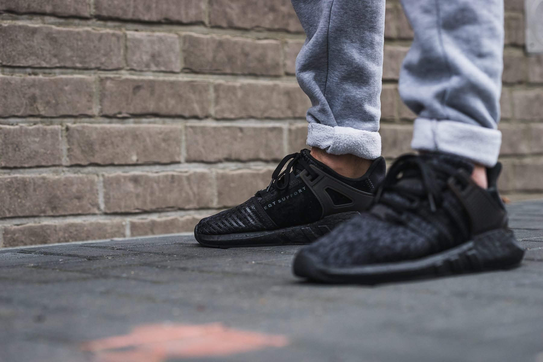meet special sales online here Release Reminder: adidas EQT Support 93/17 Triple Black ...