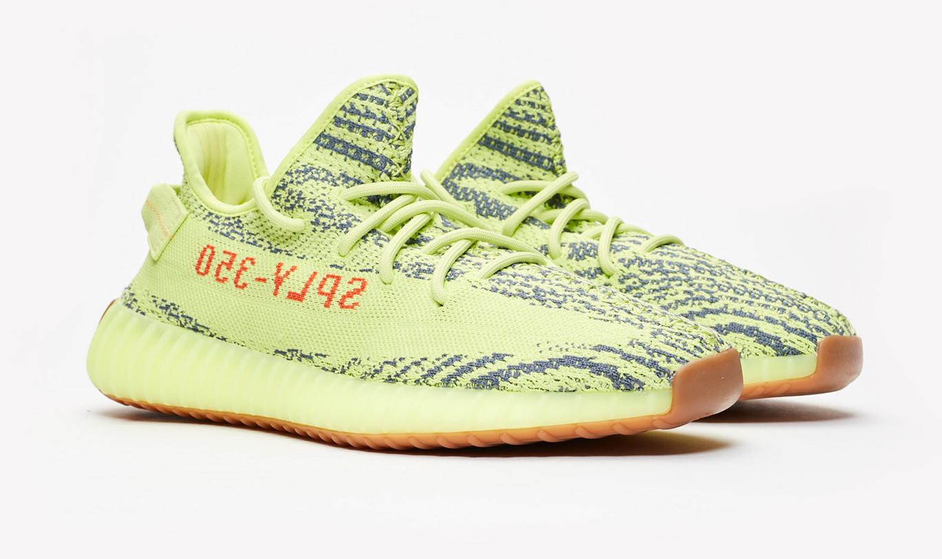 adidas yeezy web yellow