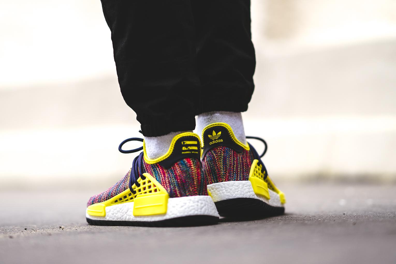 Pw Hu Race Adidas Nmd Tr Pharrell Noble Ink Bold Yellow
