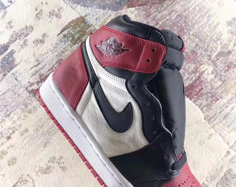 The Leather On The Air Jordan 1 Retro