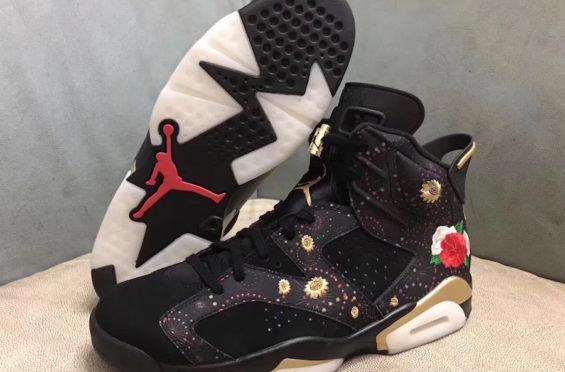 separation shoes 85137 fc1b2 Air Jordan 6 Chinese New Year • KicksOnFire.com