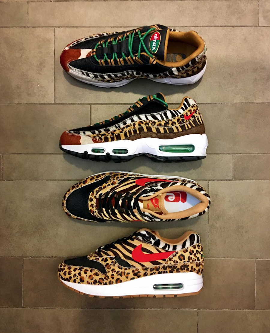 size 40 6cd9c 99e44 atmos x Nike Air Max Animal Pack 2.0 Arriving In 2018 ...