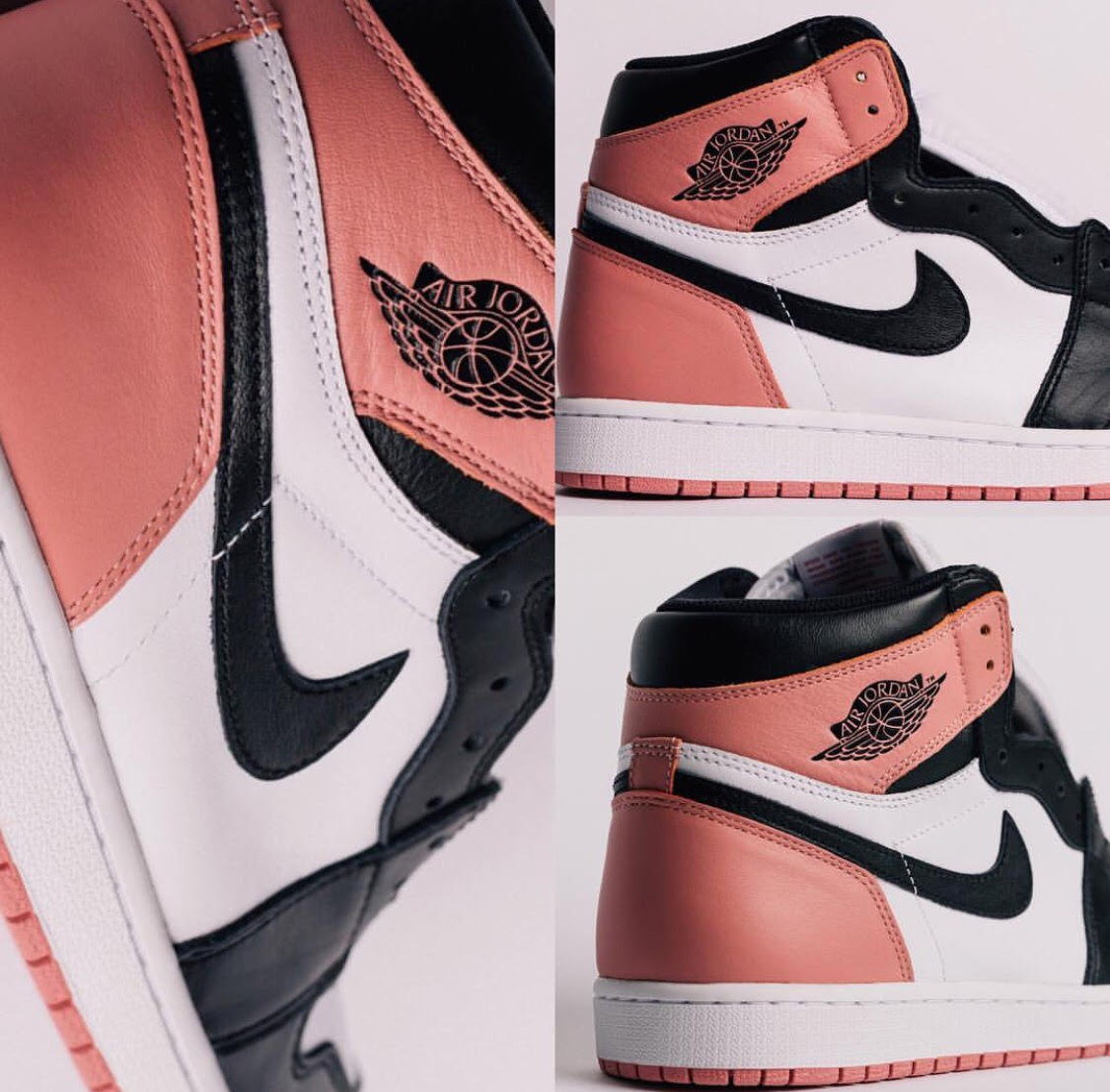 sports shoes da807 599d3 Air Jordan 1 Retro High OG Rust Pink • KicksOnFire.com