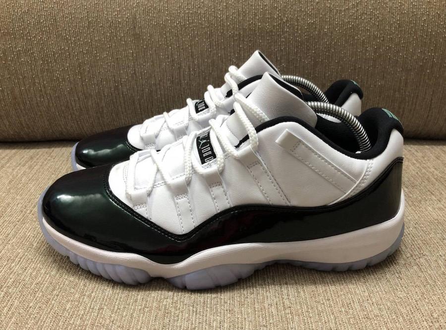 Air Jordan 11 Low Emerald