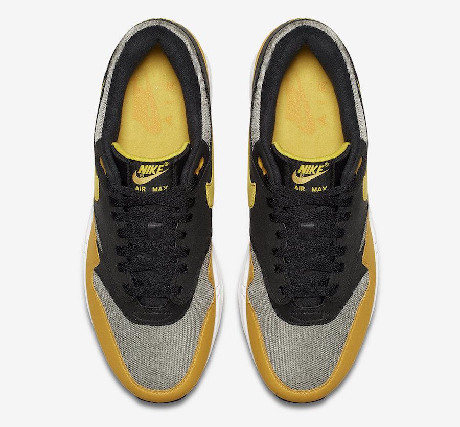 Nike Air Max 270 Men's Running Shoes BlackGold #AH8060 019