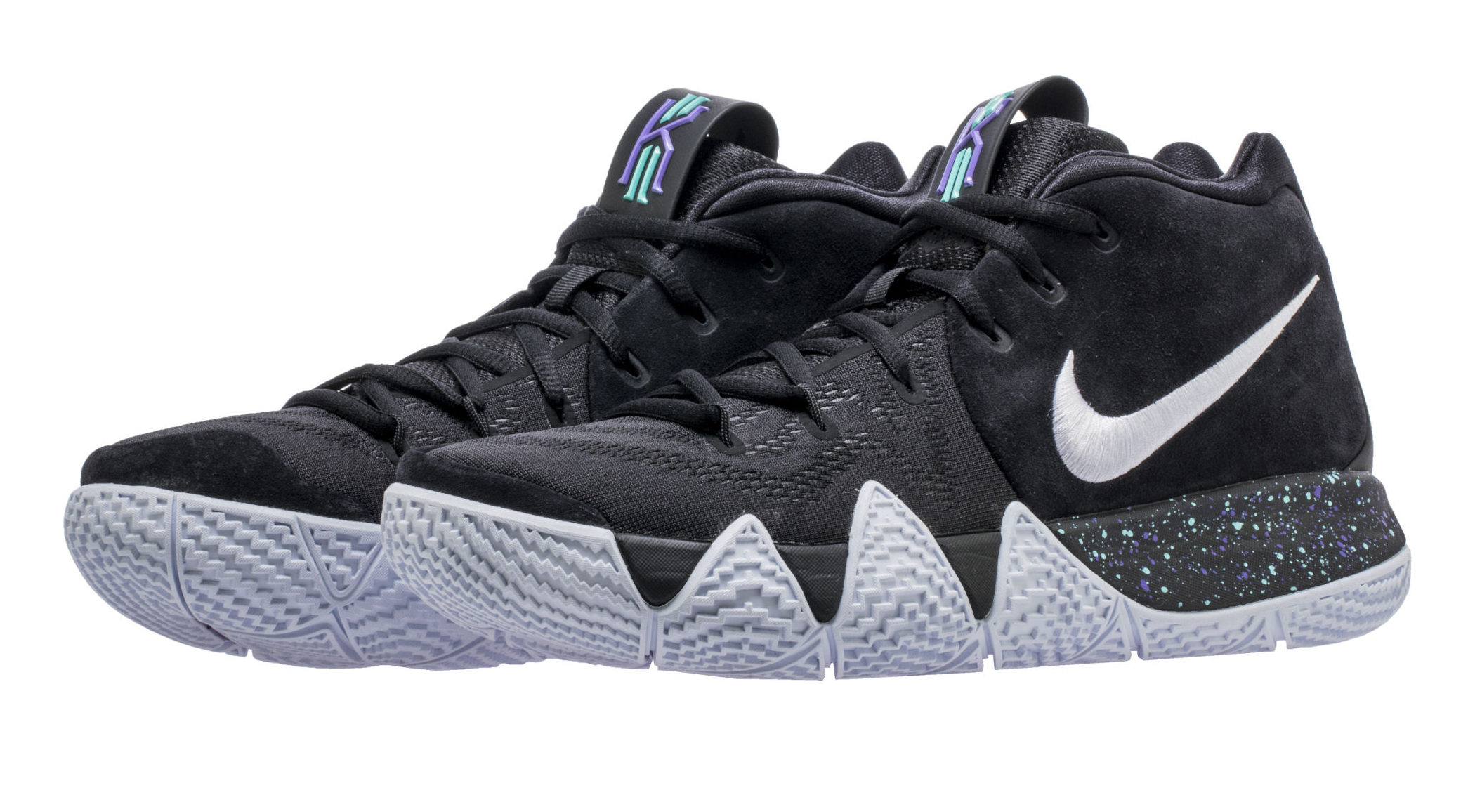 first rate 1b8dc dbe6c Detailed Look At The New Nike Kyrie 4 Black White ...