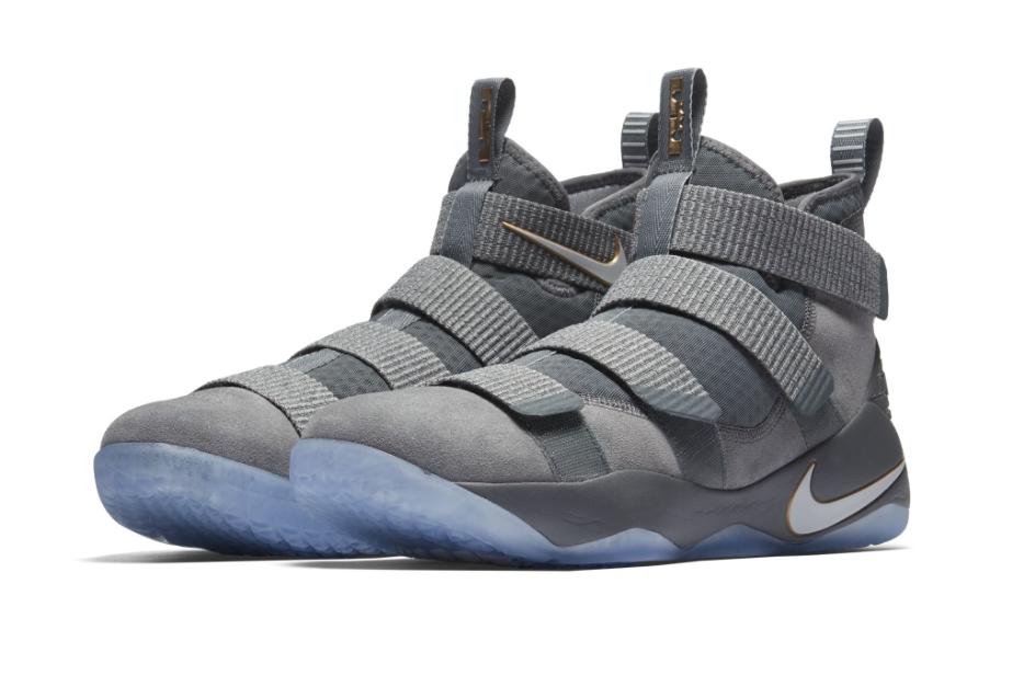 pretty nice c81d6 63ca3 Nike LeBron Zoom Soldier 11 Cool Grey Coming Soon ...