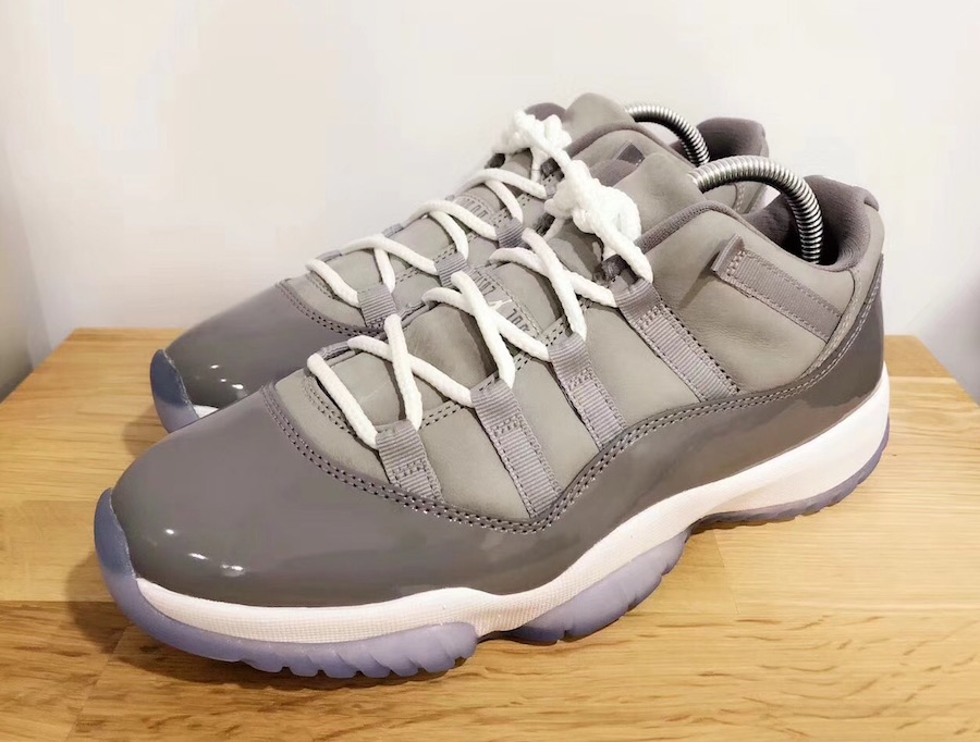 the best attitude d1a59 4df64 Will The Air Jordan 11 Low Cool Grey Be Welcomed With Open ...