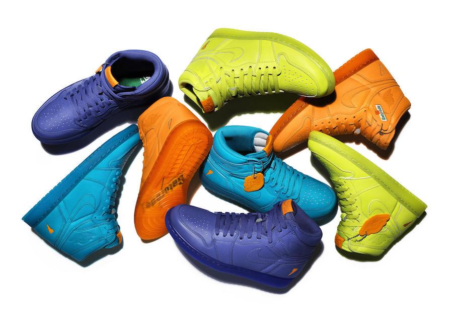 The Jordan Brand Gatorade Collection