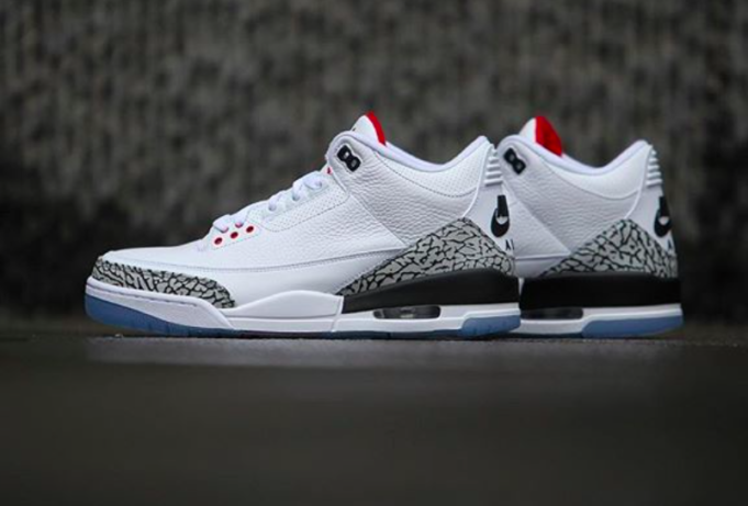 finest selection f046c b4a37 Are You Looking Forward To The Air Jordan 3 White Cement NRG ...