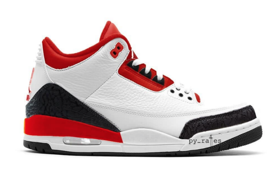 wholesale dealer 429d5 24c52 Air Jordan 3 JTH NRG Fire Red Is Expected To Release Spring ...