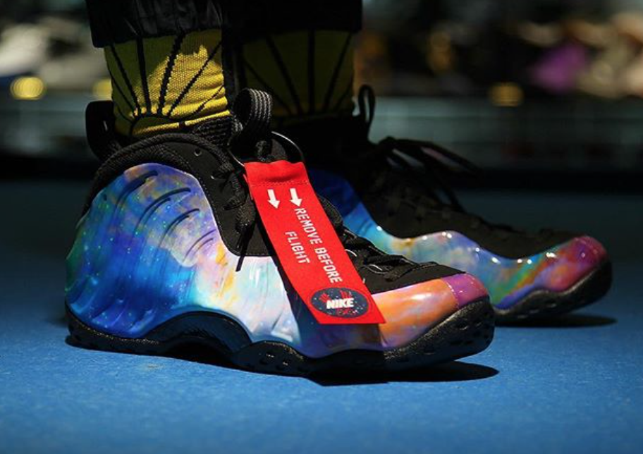 best sneakers ef85f 14d72 Nike Air Foamposite One Alternate Galaxy (Big Bang ...