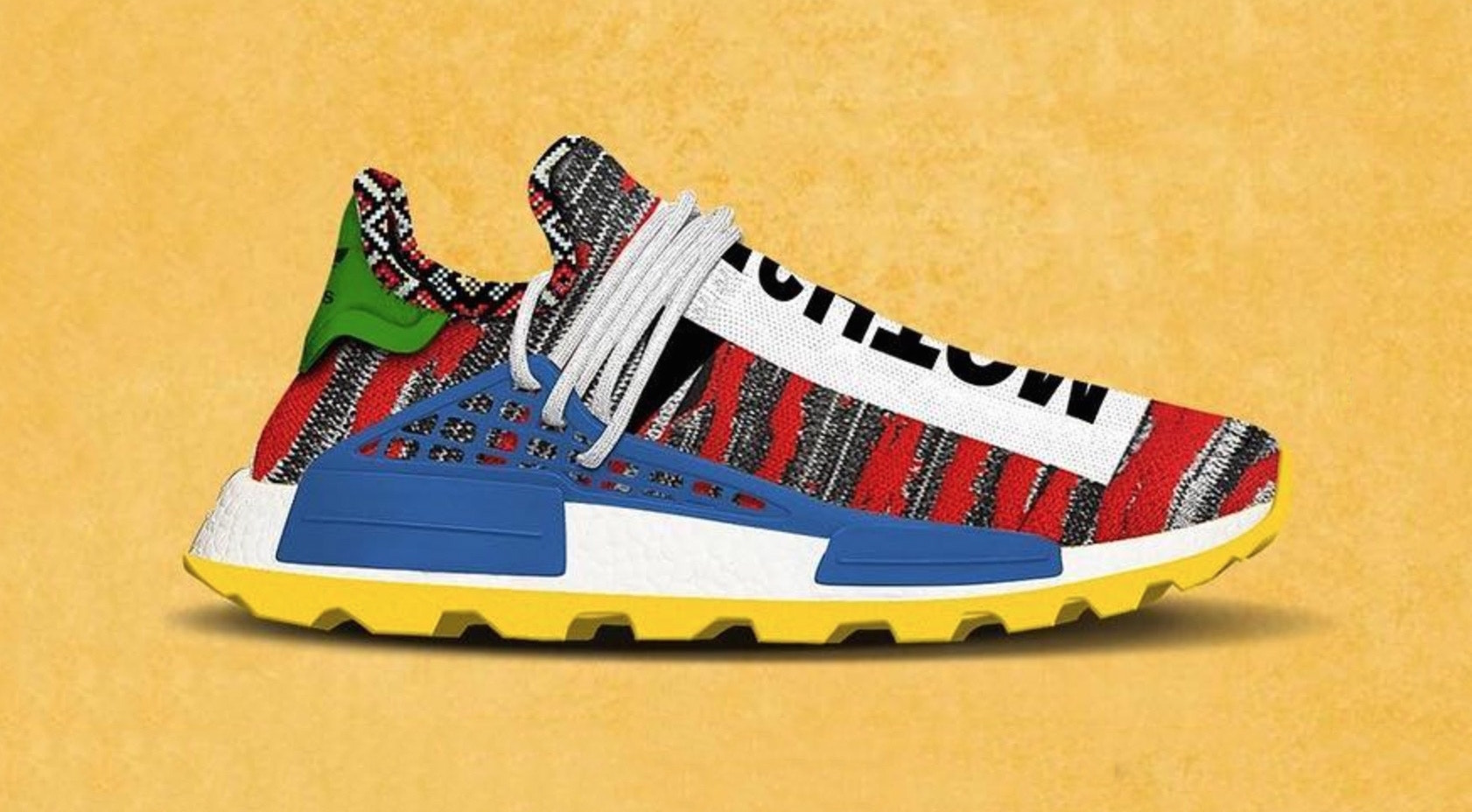 new style 77c9b 03d90 Pharrell x adidas Afro NMD Hu Pack Releasing Fall 2018 ...
