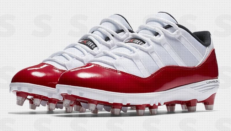 huge sale 39117 04bfa The Air Jordan 11 Football Cleat Will Be Releasing As A Low
