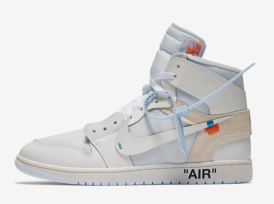 various colors 093c8 50afe OFF-WHITE x Air Jordan 1 White • KicksOnFire.com