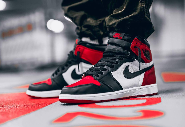 pretty nice bf04a e1e69 Air Jordan 1 Retro High OG Bred Toe • KicksOnFire.com