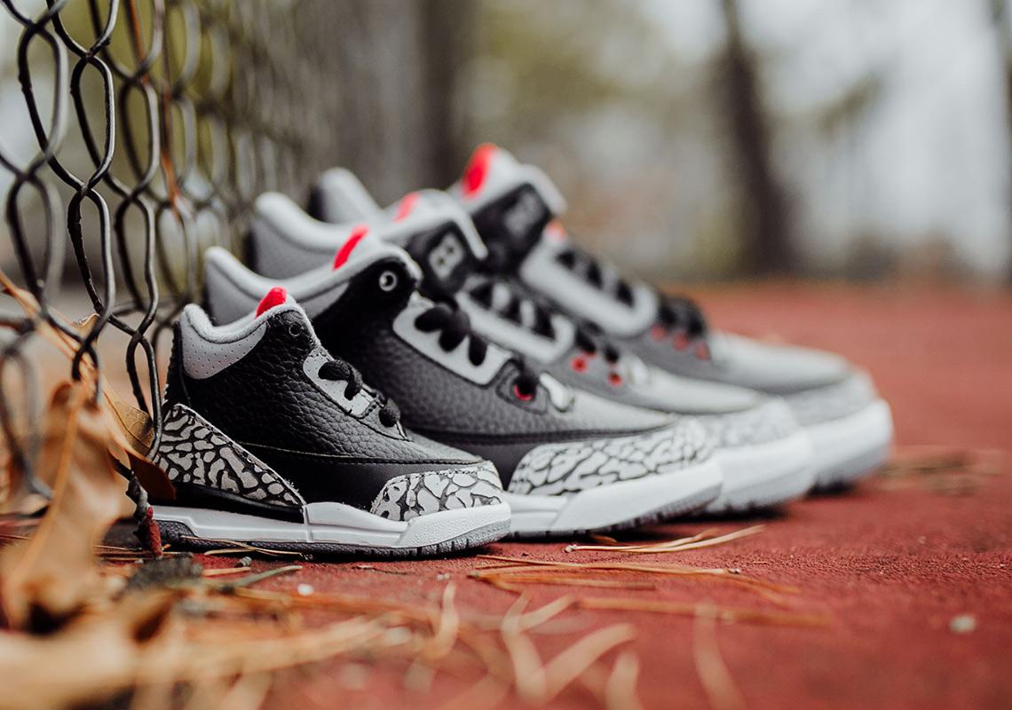 Pick Up The Air Jordan 3 Retro OG Black Cement For The