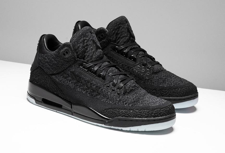 competitive price fd42d 4ce96 Air Jordan 3 Flyknit Black • KicksOnFire.com
