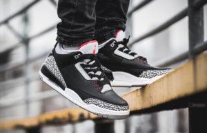 huge selection of 7e165 1c304 Air Jordan 3 Black Cement • KicksOnFire.com