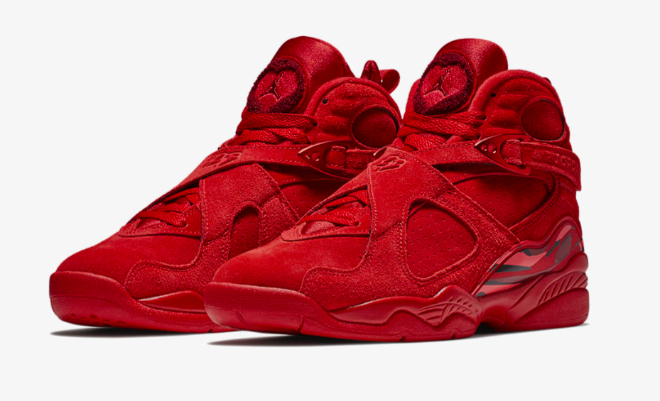 online store 917a4 3f651 Air Jordan 8 WMNS Valentine's Day • KicksOnFire.com