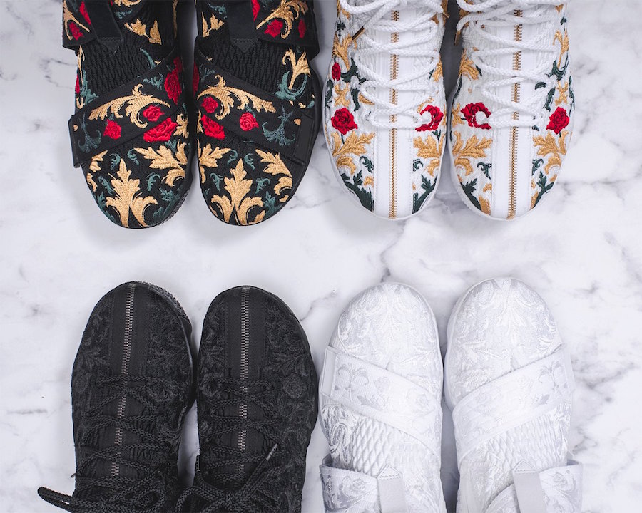 various colors d3507 50c93 A Look At Part 2 Of The KITH x Nike LeBron 15 Long Live The ...