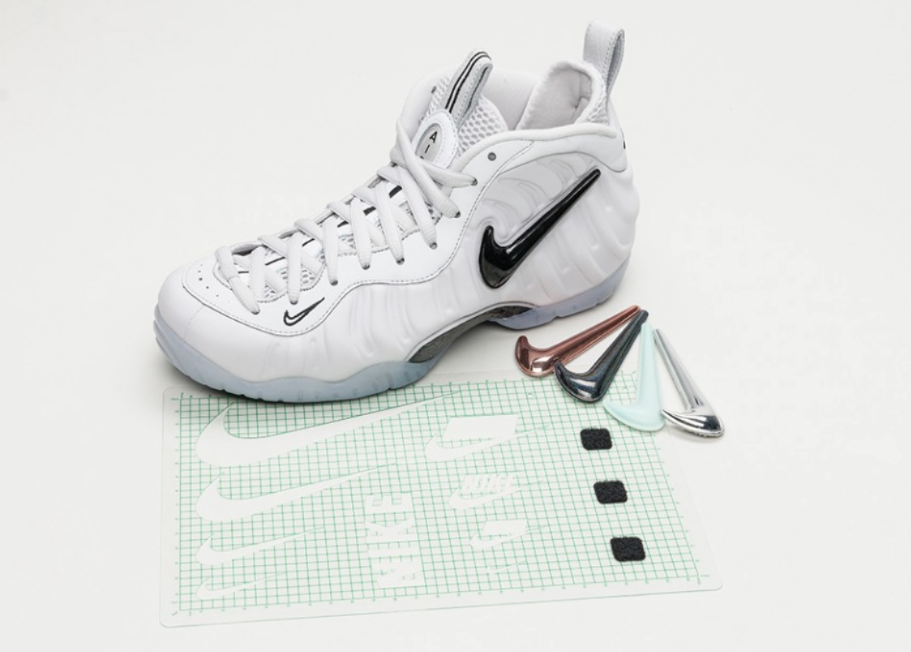 best sneakers f7cf9 75f17 Nike Air Foamposite Pro All Star (Removable Swoosh) Debuting ...