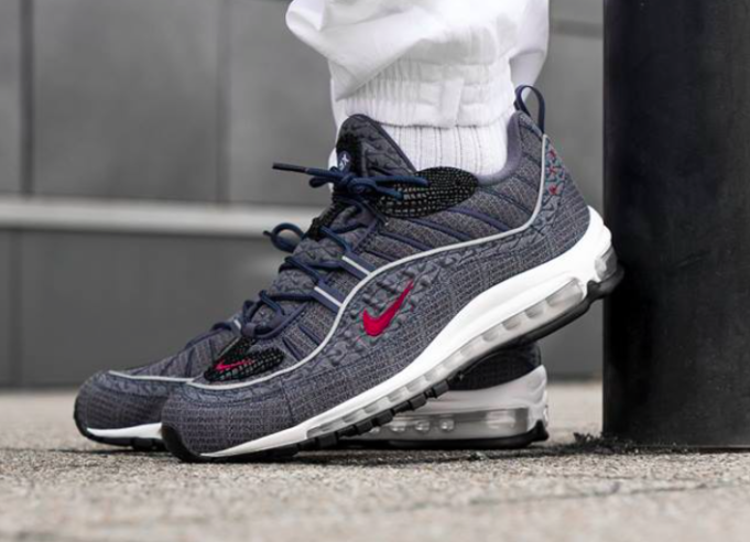 new style 39ae1 e64d1 Look For The Nike Air Max 98 QS Thunder Blue Now ...