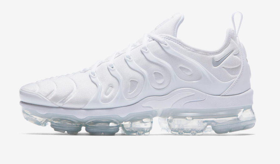 the best attitude 71699 50772 Release Date: Nike Air VaporMax Plus Triple White ...