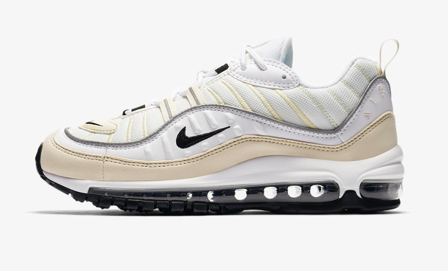 Nike Air Max 98 White Fossil Womens : Release date, Price & Info