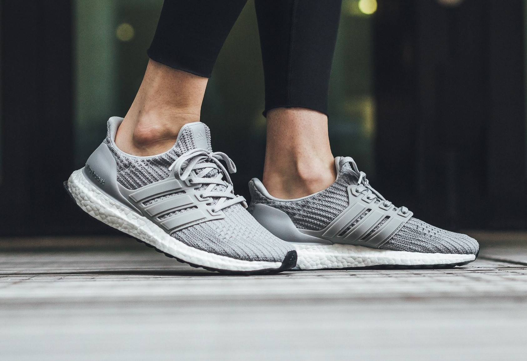 Get The adidas Ultra Boost 4.0 Grey Now •
