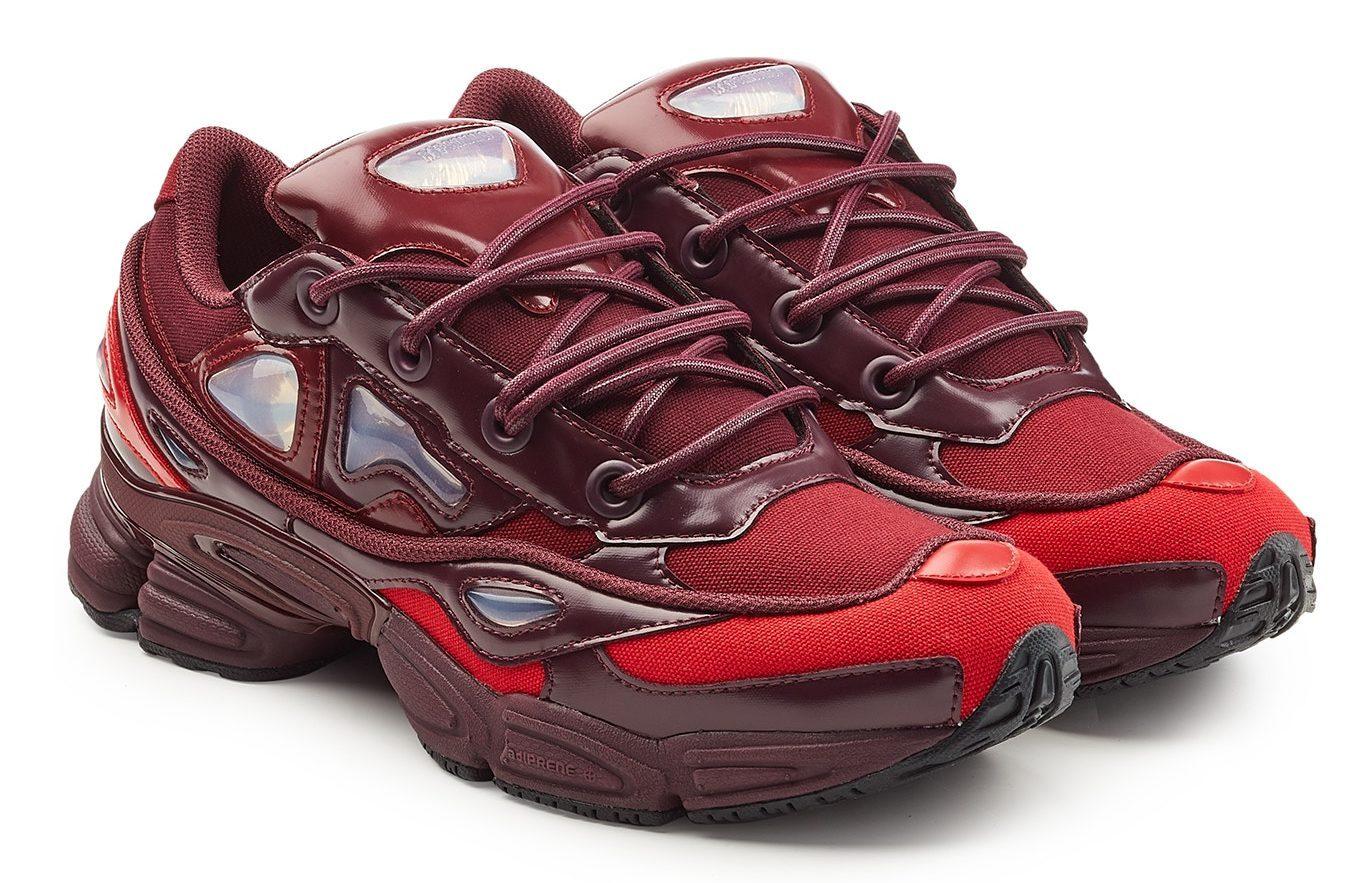 scarpe sportive b5ca5 ebfae A First Look At The adidas x Raf Simons Ozweego 3 Burgundy ...